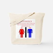 funny math statistics Tote Bag