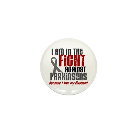 In The Fight 1 PD (Husband) Mini Button