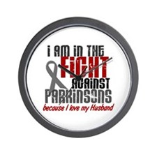 In The Fight 1 PD (Husband) Wall Clock
