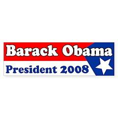Barack Obama 2008 Bumper Bumper Sticker