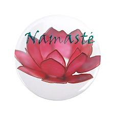 "Namasté 3.5"" Button (100 pack)"