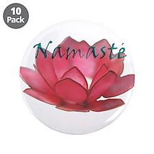 "Namasté 3.5"" Button (10 pack)"