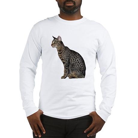Savannah Cat Long Sleeve T-Shirt