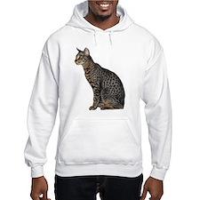 Savannah Cat Hooded Sweatshirt