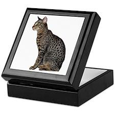 Savannah Cat Keepsake Box