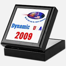 'Dynamic USA.' Keepsake Box