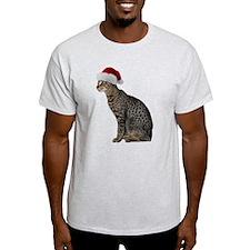 Savannah Cat Christmas T-Shirt