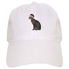 Savannah Cat Christmas Baseball Cap