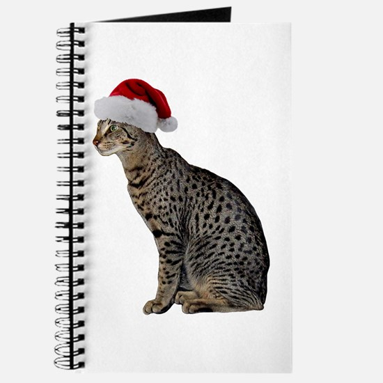 Savannah Cat Christmas Journal