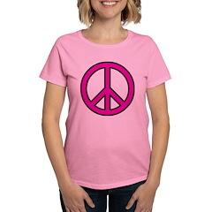 pink peace Tee