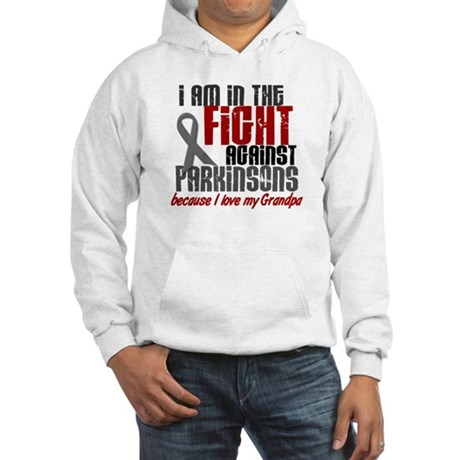 In The Fight 1 PD (Grandpa) Hooded Sweatshirt
