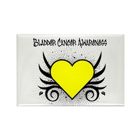 bladder cancer tattoo rectangle magnet by shirts4cancer. Black Bedroom Furniture Sets. Home Design Ideas