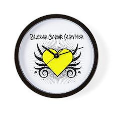BladderCancerSurvivor Tattoo Wall Clock