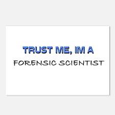 Trust Me I'm a Forensic Scientist Postcards (Packa
