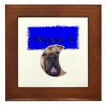 DOG GONE IT! Framed Tile