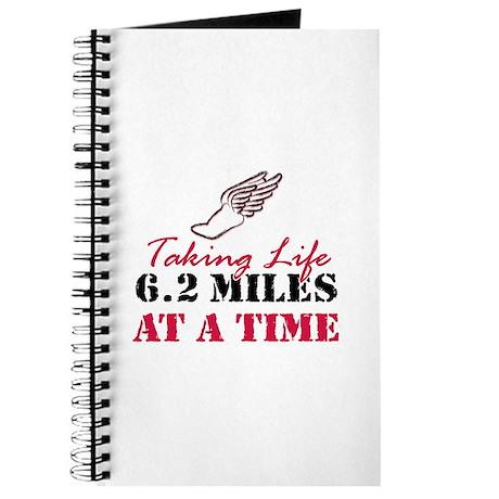 Taking Life 6.2 miles Journal