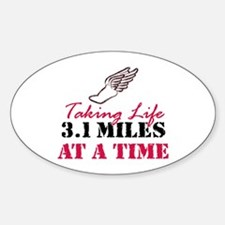 Taking Life 3.1 miles Decal