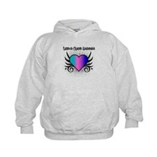 Thyroid Cancer Tattoo Hoodie