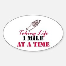 Taking Life 1 mile Decal