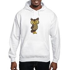 Wide Eyed Owl Hoodie