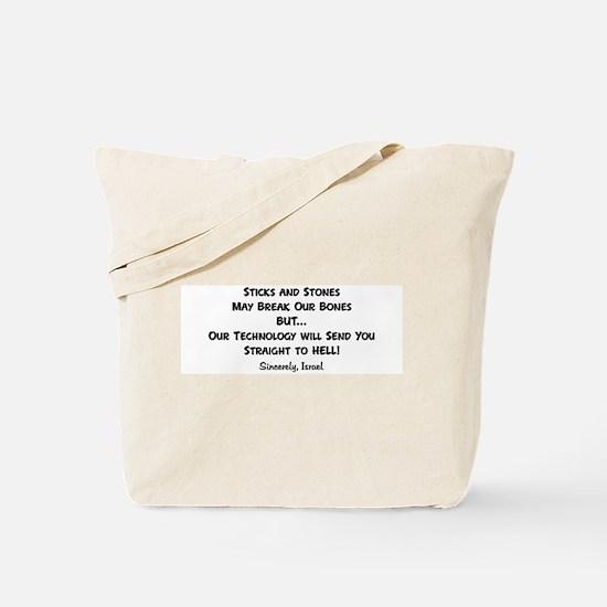 Pro Israel Tote Bag