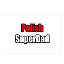 """Polish Super Dad"" Postcards (Package of 8)"