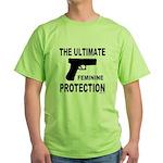 GUNS/FIREARMS Green T-Shirt