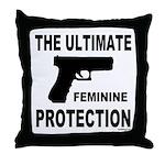 GUNS/FIREARMS Throw Pillow