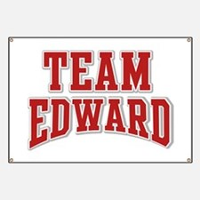Team Edward Personalized Custom Banner