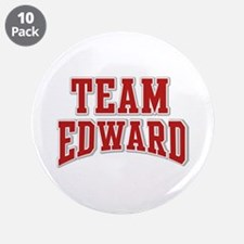 "Team Edward Personalized Custom 3.5"" Button (10 pa"