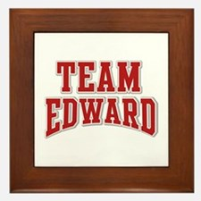 Team Edward Personalized Custom Framed Tile