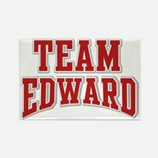 Team Edward Personalized Custom Rectangle Magnet