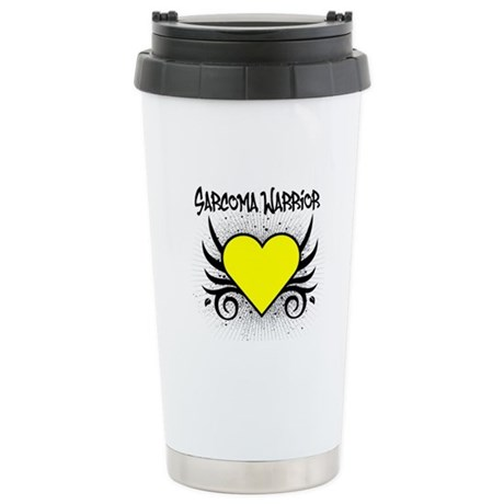 Sarcoma Warrior Tattoo Stainless Steel Travel Mug