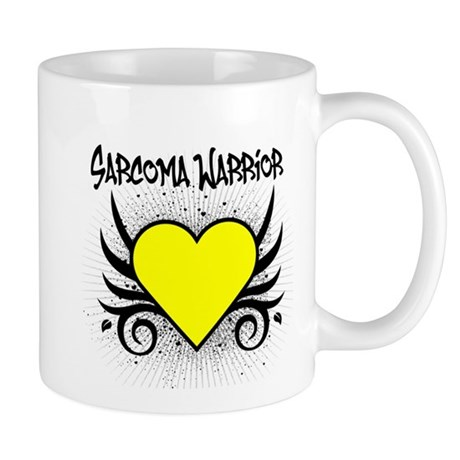 Sarcoma Warrior Tattoo Mug