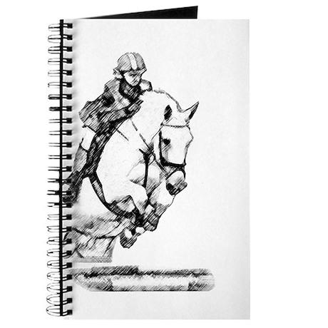show jumping horse Journal