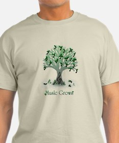 Music Grows T-Shirt