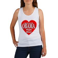 Barack Obama Hope Won Women's Tank Top