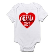 Barack Obama Hope Won Infant Bodysuit