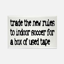 Trade the new rules. Rectangle Magnet