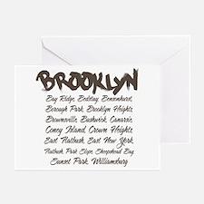 Brooklyn Hoods Greeting Cards (Pk of 10)