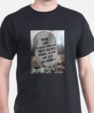 Here Lies Lester Moore Ash Grey T-Shirt
