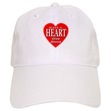 Have A Heart Give Blood Cap