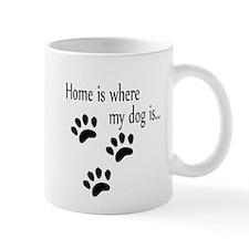 Home is where my dog is Mug