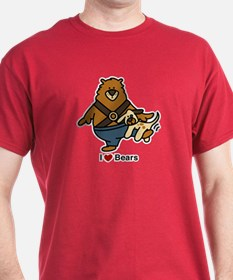 3-i love bears T-Shirt