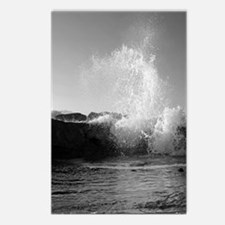High Tide on the North Jetty I Postcards