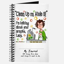 Clean Up on Aisle 8! Journal