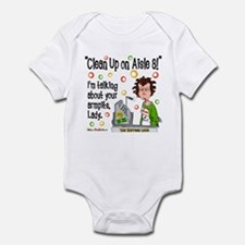 Clean Up on Aisle 8! Infant Bodysuit