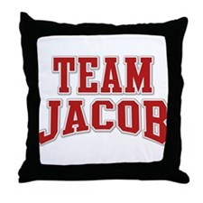 Team Jacob Personalized Custom Throw Pillow