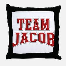 Team Jacob Personalized Custom Throw Pillow