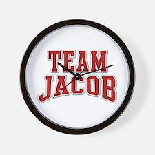 Team Jacob Personalized Custom Wall Clock